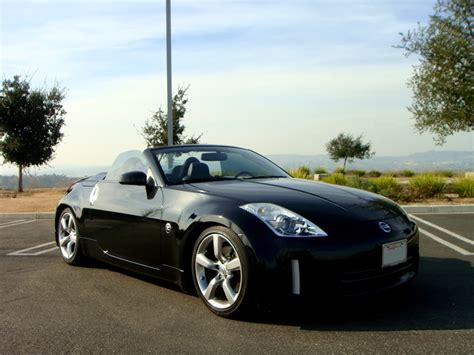 nissan convertible nissan 350z convertible with spoiler image 165