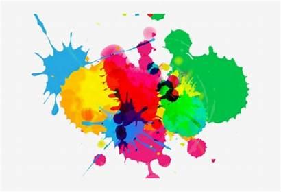 Splash Background Clipart Colours Colouful Transparent Pngkey