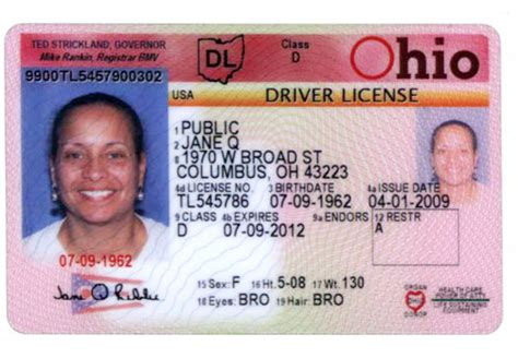Toledo Ohio Drivers License Template by Driver License Number Format Olala Propx Co