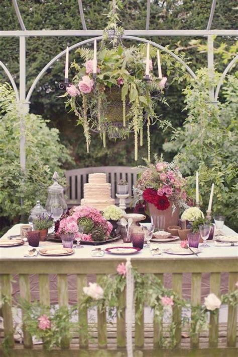 garden wedding enchanted secret garden wedding