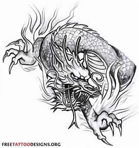 Japanese Dragon Tattoos