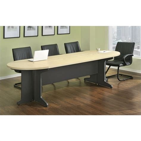 altra furniture benjamin large gray conference table