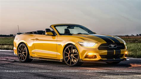 Ford Mustang Gt Yellow  Full Hd Wallpapers
