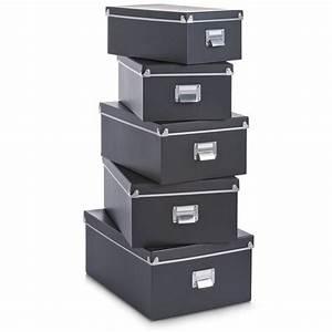 Aufbewahrungsbox Pappe Mit Deckel : 5tlg set aufbewahrungskiste mit deckel kiste box karton ~ A.2002-acura-tl-radio.info Haus und Dekorationen