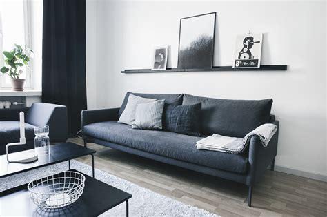 black white and living room ideas decordots stylish monochrome apartment in helsinki
