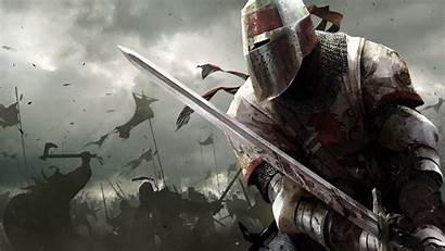 Knight Warrior Armor Background Fantasy