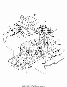 Mtd 17af2acp004  2009  Parts Diagram For Operator U0026 39 S Platform