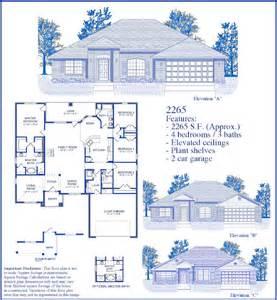 builders floor plans homes 2265 floor plan images
