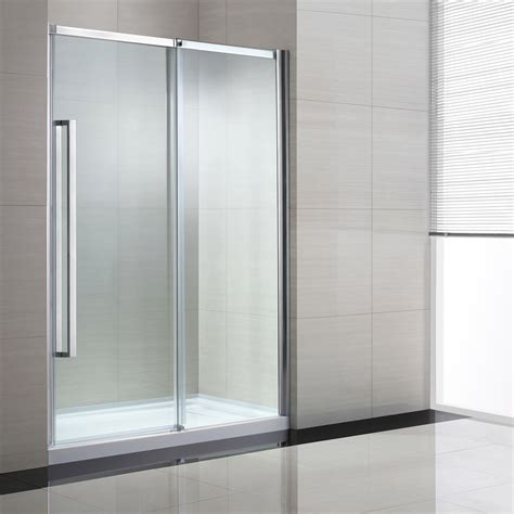 60 shower door ove decors elvina 60 in bathroom shower door lowe s canada