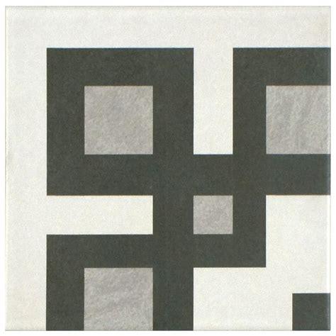 home depot merola tile twenties merola tile twenties corner 7 3 4 in x 7 3 4 in ceramic
