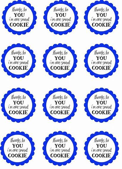 Cookie Smart Printable Teacher Appreciation Gifts Thank