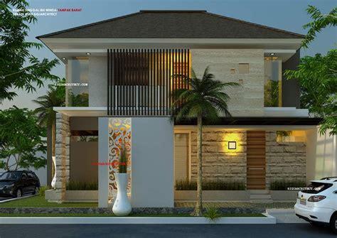 model rumah hook  lantai  eksterior desain pinterest
