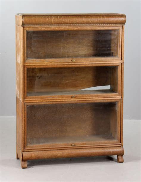 Oak Barrister Bookcase by Lot Detail Oak Barrister Bookcase