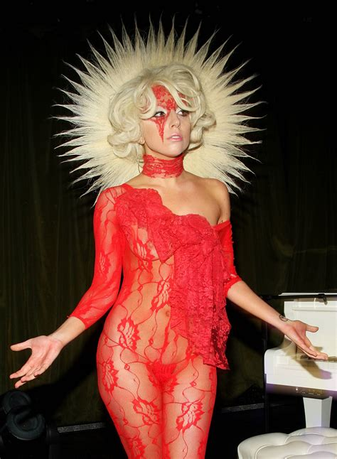 Halloween Inspiration Lady Gaga  Life In Lingerie