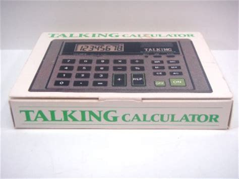 Blind Calculator by The Ultmost Big Number Talking Calculator 09 The Blind
