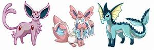 pokemon eevee jolteon flareon vaporeon espeon umbreon ...