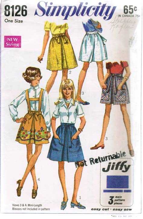 Simplicity 8126  Vintage Sewing Patterns  Fandom Powered