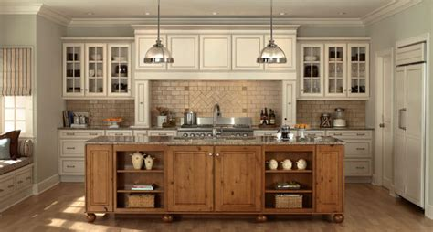 Mid Continent Cabinets Concord by Sullivan Ornate Signature Series Norcraft Cabinetry