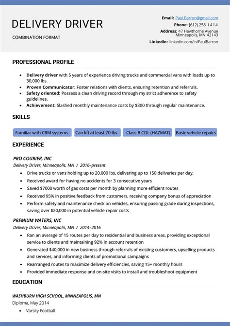 Resume Writing Format by The Combination Resume Exles Templates Writing