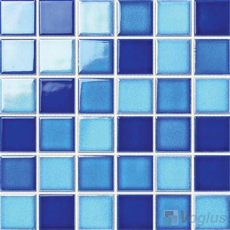 3x3 blue ceramic tile swimming pool ceramic mosaic voglus mosaic