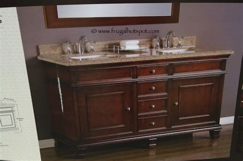 costco vanities double sink costco clearance mission hills wood vanity double sink