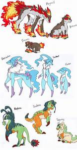 Pokemon Starters Of Boredoom By Noth Chan On Deviantart