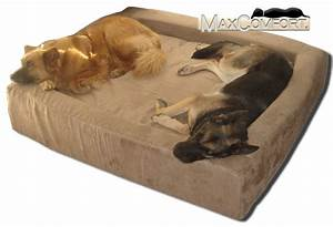 Orthopedic memory foam dog beds big dog beds for Big dog furniture