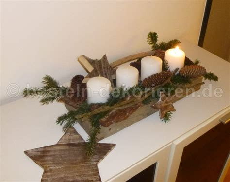 Minimalistischer Adventskranz Aus Holz