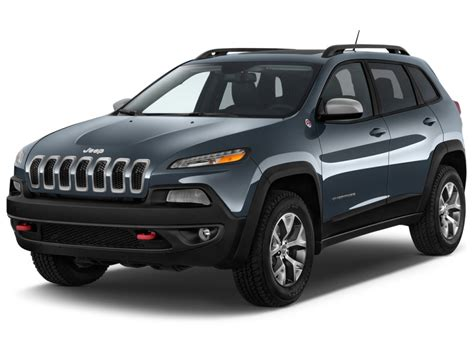 types of jeeps 2016 image 2017 jeep cherokee trailhawk 4x4 angular front