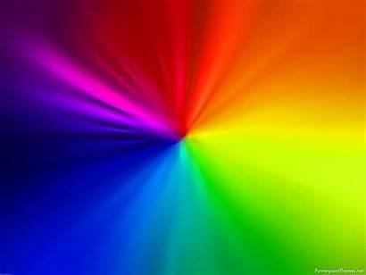 Background Presentation Rainbow Powerpoint Themes Cool Theme