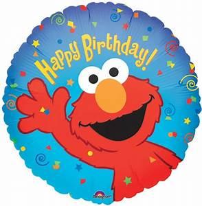 18 inch Elmo Happy Birthday