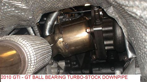 golf 6 gti downpipe 400hp gt2871r stock location turbo manifold for 2 0t fsi tsi models atpturbo