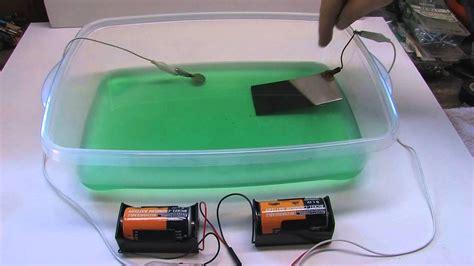 easy nickel  copper electroplating method youtube