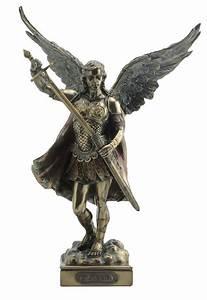 Michael Statue Archangel St Saint Sculpture Figure ...