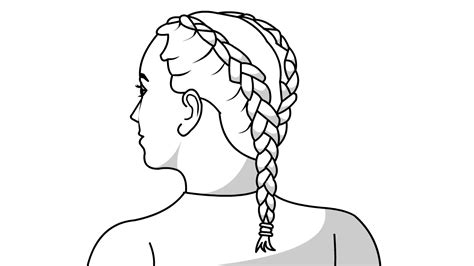 simple ways   double french braids wikihow