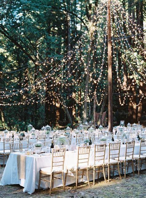 rustic backyard wedding decoration ideas   budget