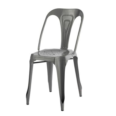 chaise indus en metal multipls maisons du monde