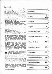 Volvo Bm 4400 Wheel Loader Workshop Service Manual