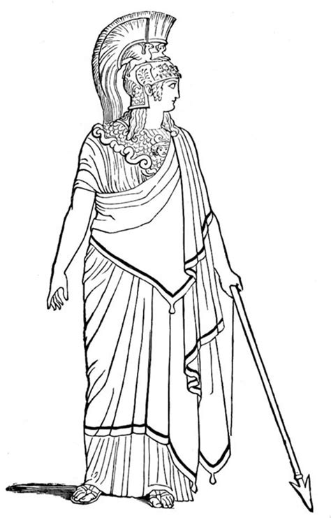 Roman Gods Goddesses - Free Colouring Pages