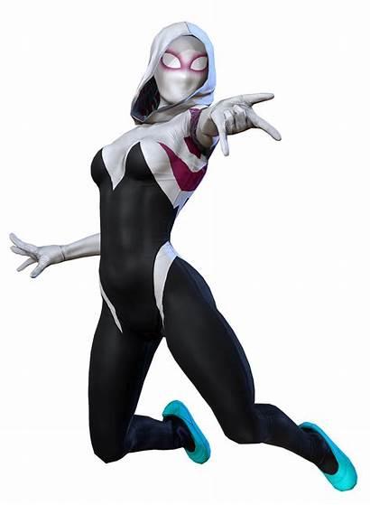 Gwen Spider Marvel Costume Spiderman Transparent Verse