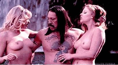 Machete Scene Lohan Lindsay Gifs Danny Trejo