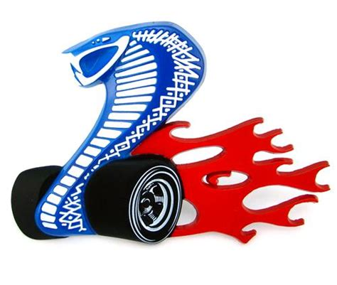 Mustang Cobra Jet Logo by Ford Racing Mustang Gt500 Cobra Jet Grille Emblem 05 14