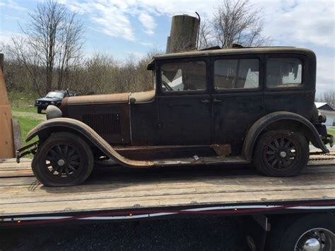 1928 Dodge Brothers 4 door Sedan Touring car barn find for