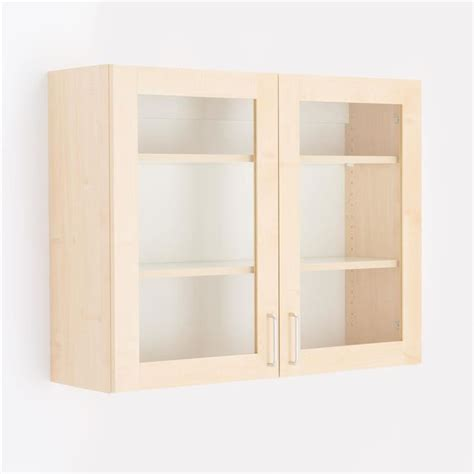 Wall Mounted Storage Cabinets With Glass Doors by Wall Mounted Cabinet With Glass Doors Aj Products