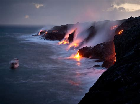 Are Lava Boat Tours Safe by Erosion Of The Continents Debateevolution
