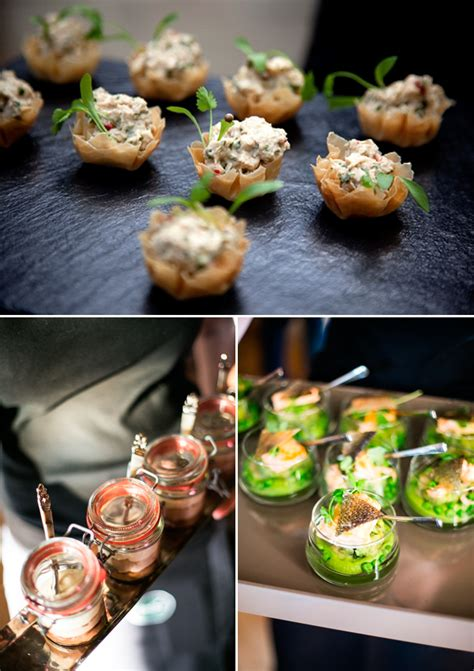 canape ideas creative canapes wedding catering ideas reinvention of
