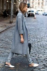 Sportlich Elegante Outfits Damen : womit l sst sich ein grauer mantel kombinieren 70 outfits ~ Frokenaadalensverden.com Haus und Dekorationen