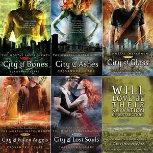 THE MORTAL INSTRUMENTS SERIES by Cassandra Clare | Karla's ...
