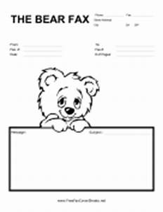 Kids fax cover sheets free fax cover sheet for Kid fax cover sheet