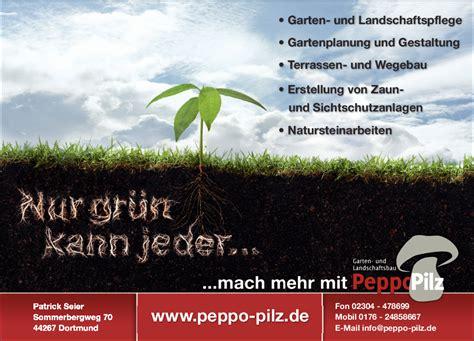 Garten Und Landschaftsbau Dortmund Hörde garten und landschaftsbau peppo pilz seier